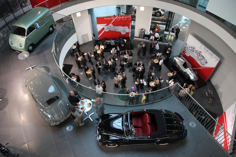 12. Jahreskongress Zulieferer Innovativ 2010;  Audi Forum Ingolstadt, 23. Juni 2010,  Vorabendempfang im Museum Mobile;