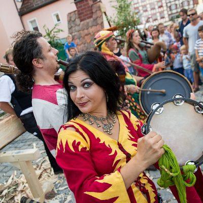 Die lange Nacht der Wallenstein-Festspiele - Lagerleben am 11.07.2015