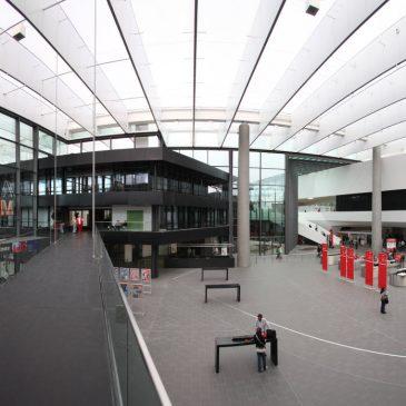Endlich mal wieder Architekturfotografie – Der neue Eingang Mitte der NürnbergMesse