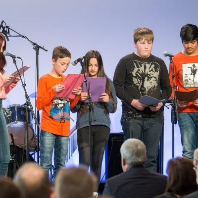 Schülerinnen und Schüler der Richard-Glimpel-Schule