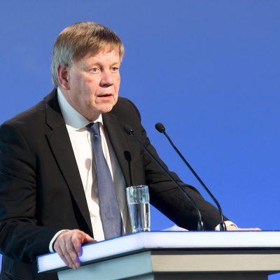 Karl Freller, Direktor der Stiftung Bayerische Gedenkstätten