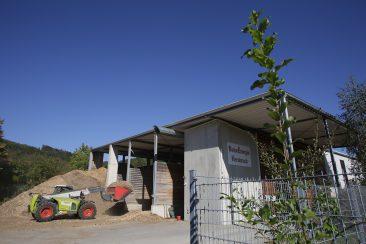 Der September - Das Hackschnitzel Heizwerk der Naturenergie Hersbruck