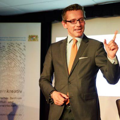 Dr. Michael Fraas, Geschaeftsfuehrer des Forums Wirtschaft und Infrastruktur der Europaeischen Metropolregion Nuernberg, und Wirtschaftsreferent der Stadt Nuernberg;