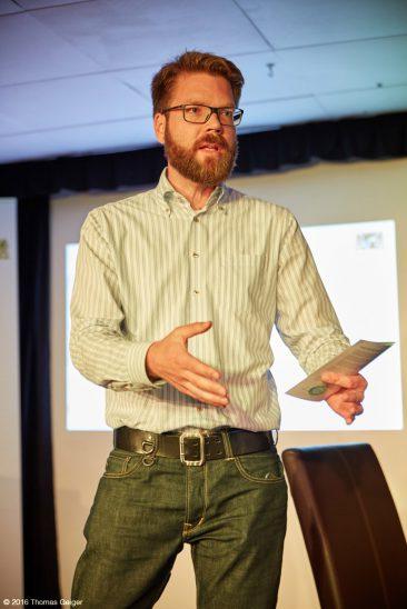 Dirk Kiefer, Leiter des Bayerischen Zentrums fuer Kultur- und Kreativwirtschaft;