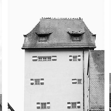 Ausstellung im Kunstfenster der Sparkasse
