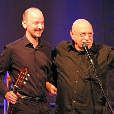 King of Klezmer - Giora Feidman (r) und Johannes Tonio Kreusch (l)