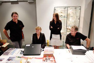 New Worlds - Die fleissigen Helfer aus der Hersbrucker Stadtverwaltung im täglichen Abendkasseneinsatz