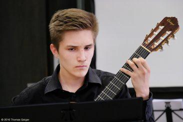 Abschlusskonzert der Festivalteilnehmer im AOK Bildungszentrum Hersbruck - Lorenz Polifke