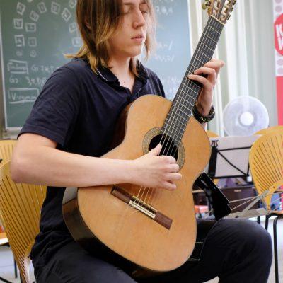 Abschlusskonzert der Festivalteilnehmer im AOK Bildungszentrum Hersbruck - Georg Stettinger
