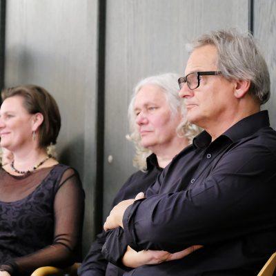 Abschlusskonzert der Festivalteilnehmer im AOK Bildungszentrum Hersbruck - beobachtet von Jürg Kindle