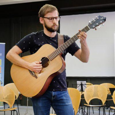 Abschlusskonzert der Festivalteilnehmer im AOK Bildungszentrum Hersbruck - Florian Hüller