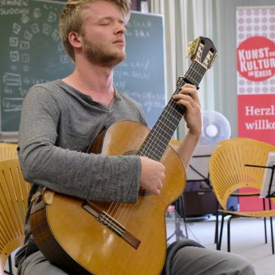 Abschlusskonzert der Festivalteilnehmer im AOK Bildungszentrum Hersbruck - David Volkmer