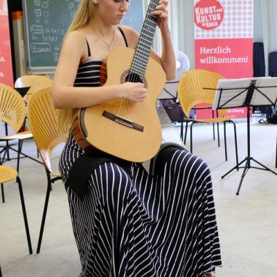 Abschlusskonzert der Festivalteilnehmer im AOK Bildungszentrum Hersbruck - Julia Trintschuk