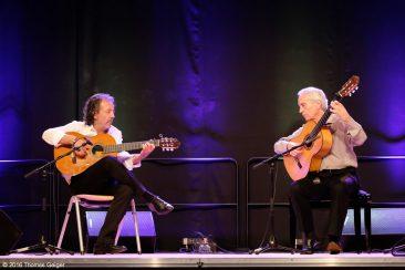 Arte Flamenco - Paco Peña (r) und José Luis Fernandez