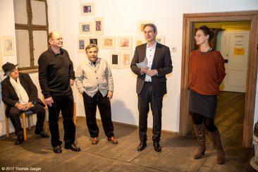 """Vernissage """"In den Mäandern der Schönheit"""" im Hirtenmuseum Hersbruck"""