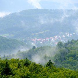 Schlechtwetter auf dem Hohenstein