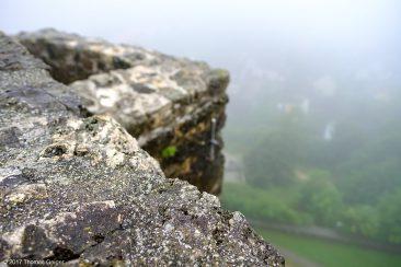 Burg Hohenstein Burgmauer