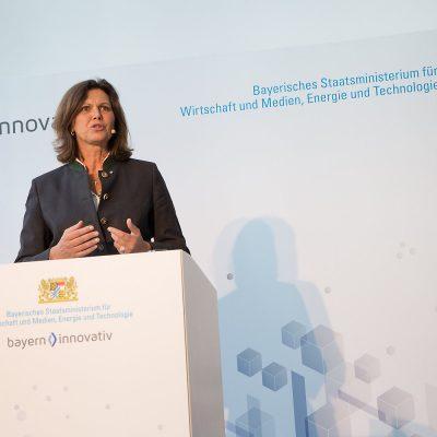 Staatsministerin Ilse Aigner, Bayerisches Staatsministerium fuer Wirtschaft und Medien, Energie und Technologie;